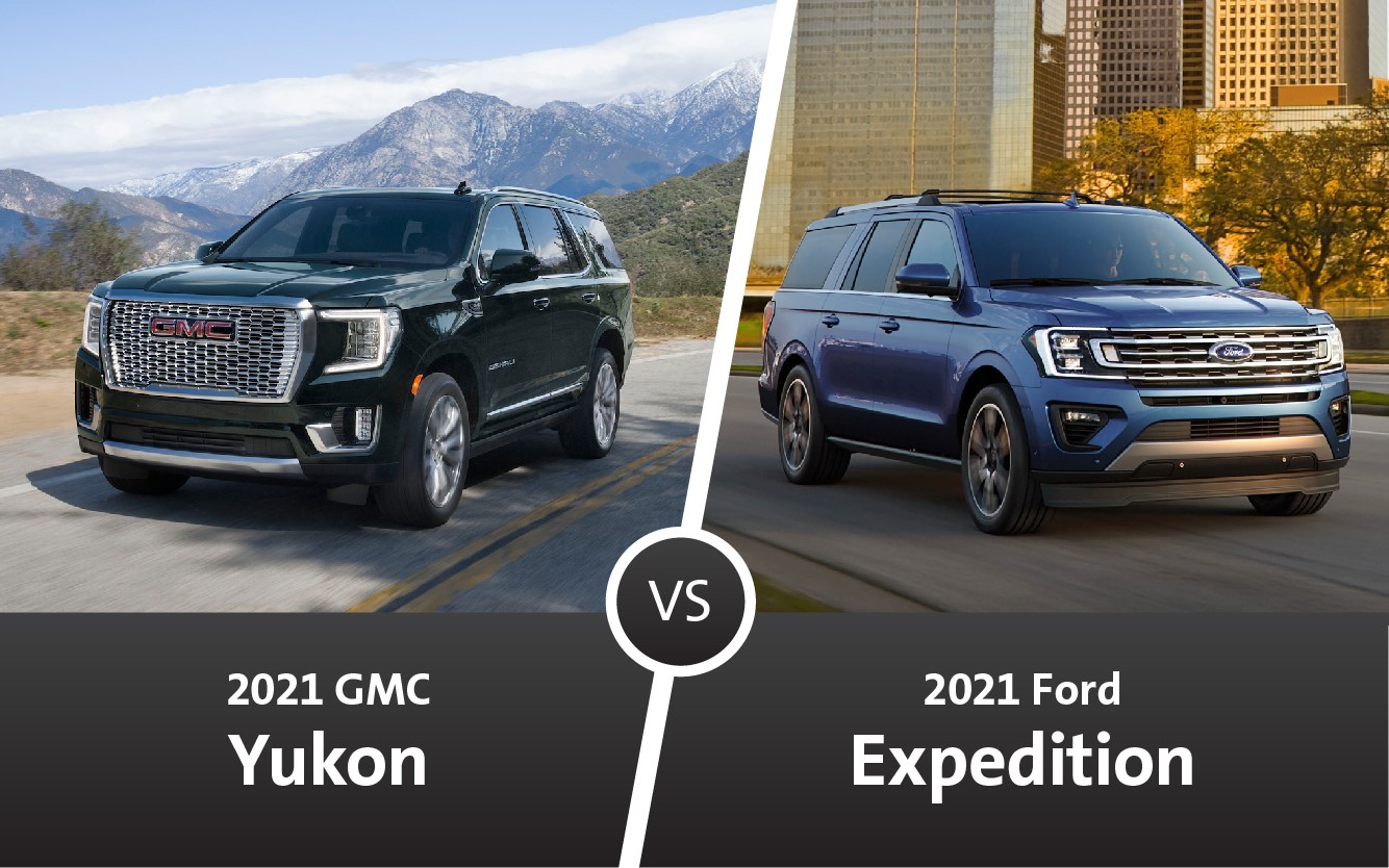 Full Size Face Off 2021 Gmc Yukon Vs 2021 Ford Expedition